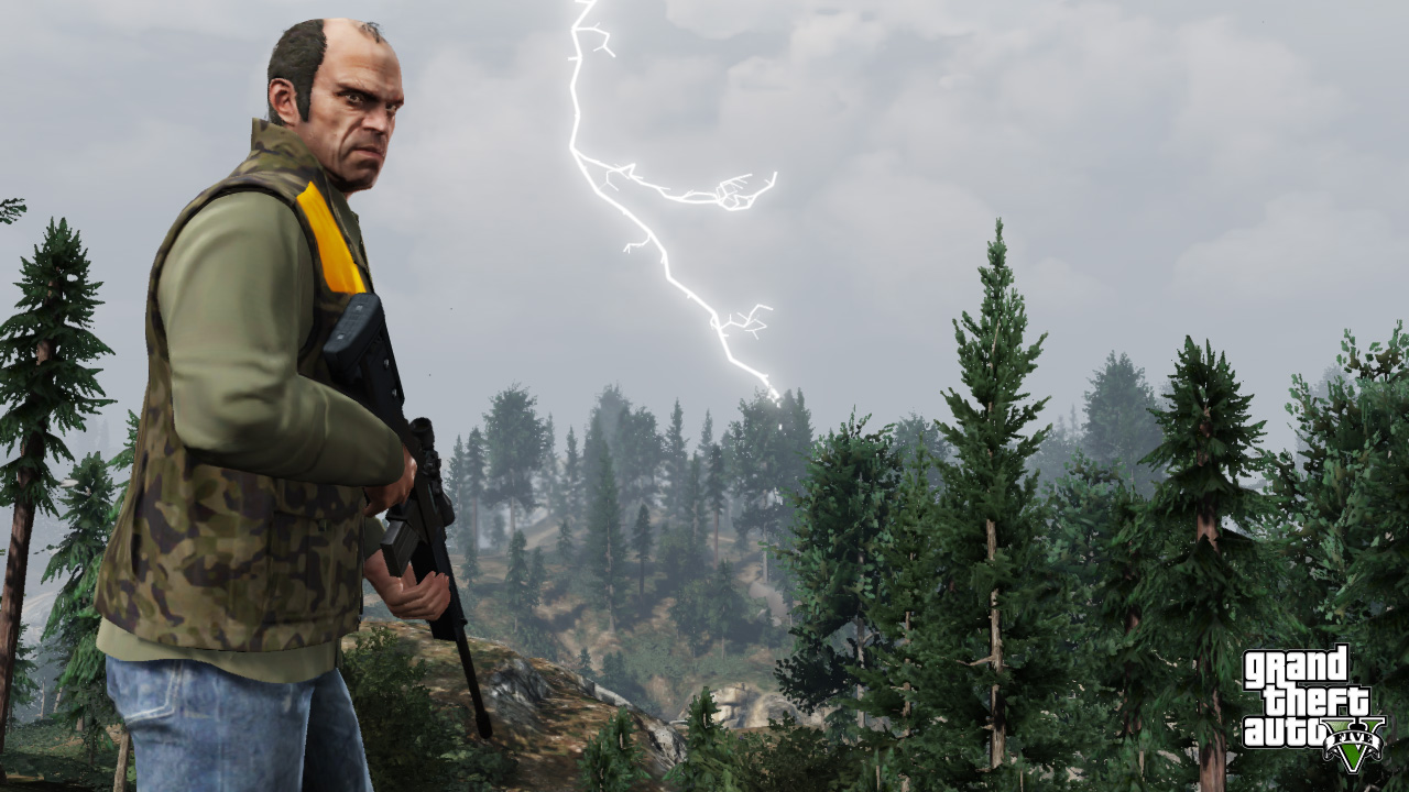 Grand Theft Auto V – an unexpected sneak peek