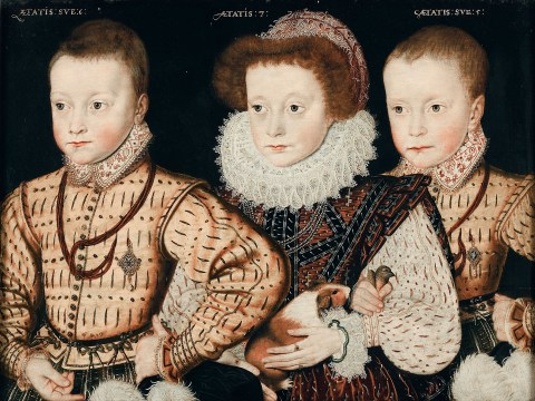 National Pawtrait Gallery: Is this the first portrait to feature a guinea pig?