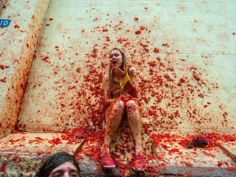 Gallery: The world's biggest tomato fight at Tomatina Festival 2013