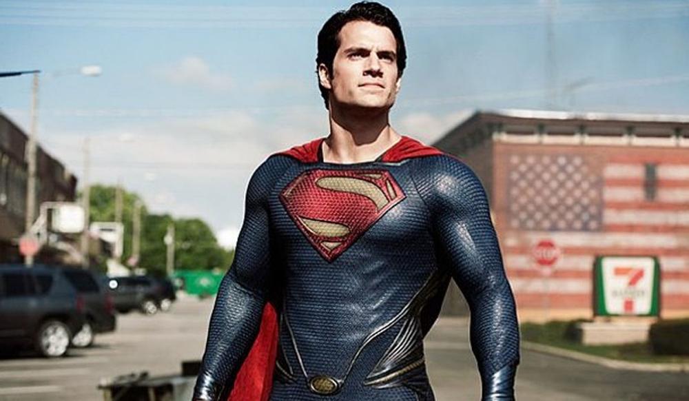 Film: Man of Steel (2013) starring Henry Cavill as Superman.    http://www.digitalspy.co.uk/movies/news/a472967/man-of-steel-new-picture-of-henry-cavills-superman-in-smallville.html