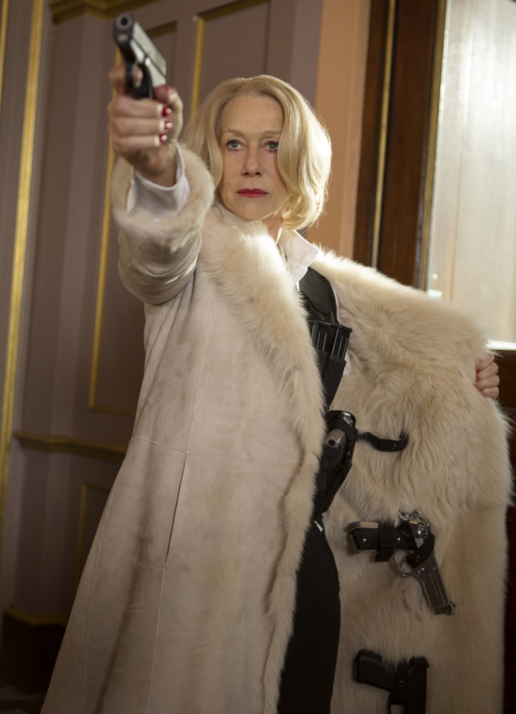 Helen Mirren and Anthony Hopkins get in on the action in Red 2