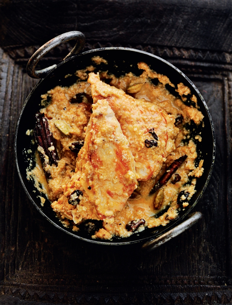 How to cook Rocky's chicken korma