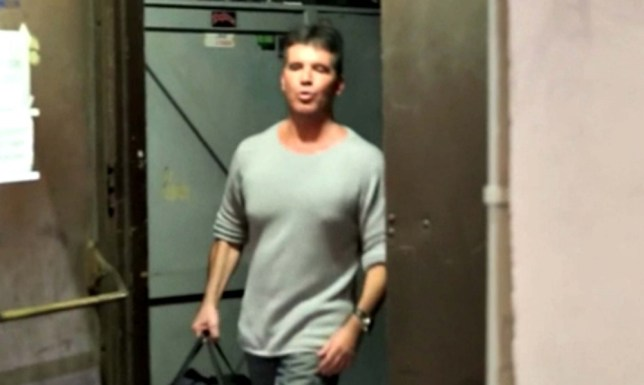 We congratulated Simon on his alleged fatherhood rumors. Simon was exiting from filming his show X factor in Los Angeles. <P> Pictured: Simon Cowell <B>Ref: SPL586583  010813  </B><BR/> Picture by: Deano/Hector Campos/Splash News<BR/> </P><P> <B>Splash News and Pictures</B><BR/> Los Angeles: 310-821-2666<BR/> New York: 212-619-2666<BR/> London: 870-934-2666<BR/> photodesk@splashnews.com<BR/> </P>