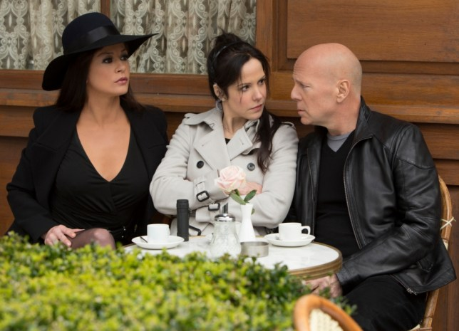 Catherin Zeta-Jones, Mary-Louise Parker and Bruce Willis in Red 2 (Picture: Frank Masi,  Summit Entertainment)