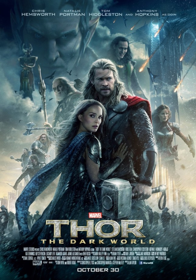 The new poster for Thor: The Dark World (Picture: Marvel)