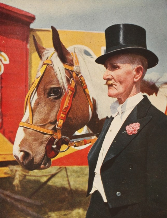 Disappointingly cliched: John Hinde's British Circus Life (Picture: National Media Museum)