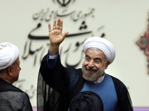 US is the aggressor, says Iran's new leader Hasan Rouhani