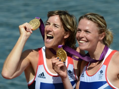 Olympic rowing gold medallist Katherine Grainger admits she is still living 'very enjoyable madness'