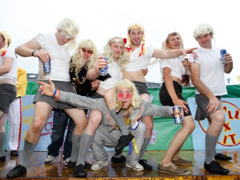 Anger over Jimmy Savile fancy dress float at family event