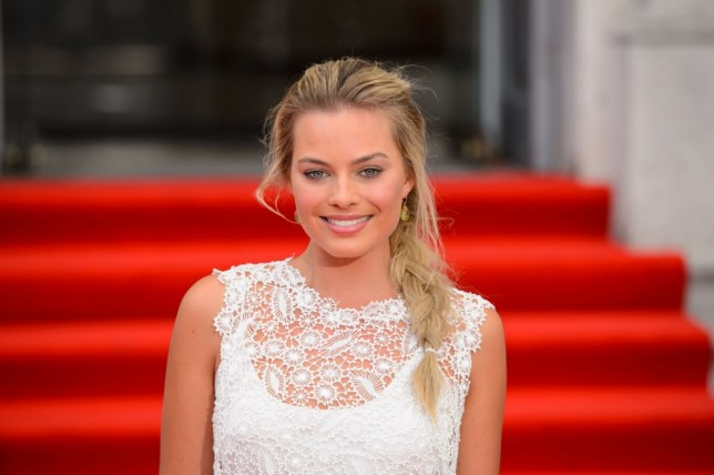 Margot Robbie arriving at the premiere of 'About Time' at Somerset House, central London. PRESS ASSOCIATION Photo. Picture date: Thursday August 8, 2013. Photo credit should read: Dominic Lipinski/PA Wire