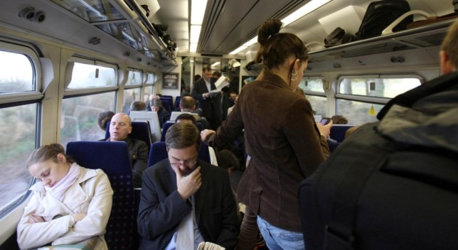 Special needs kids told to sit on train floor as first class commuters 'don't want you spoiling their journey'