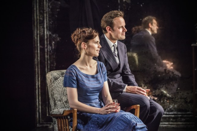 The Pride Hayley Atwell (Sylvia) & Harry Hadden-Paton (Philip) - The Pride - Trafalgar Studios - Photo Marc Brenner.jpg