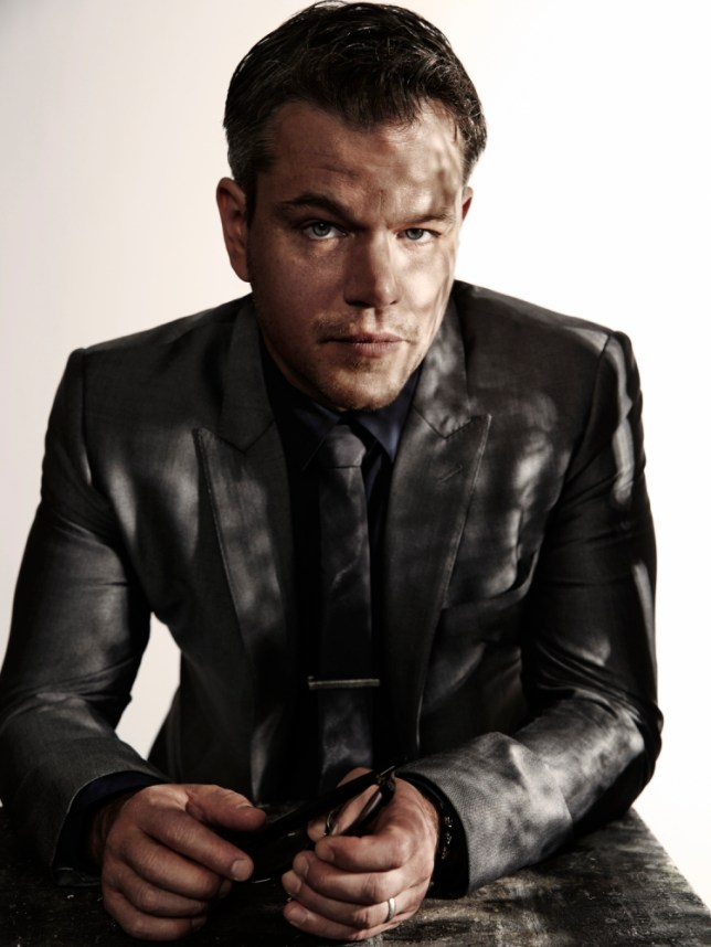 Matt Damon filmed Elysium in one of the world's largest rubbish dumps (Picture: John Russo)