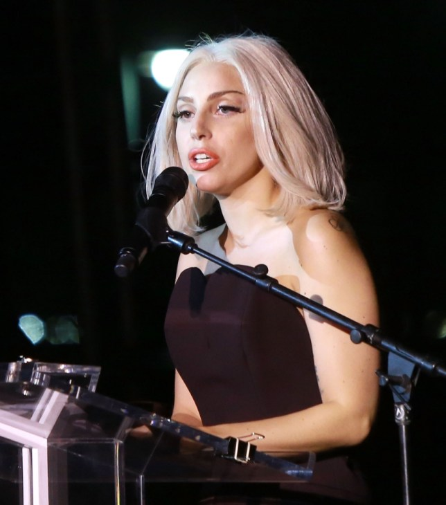 Lady Gaga has made a return with glittery tune Applause (Picture: Getty)