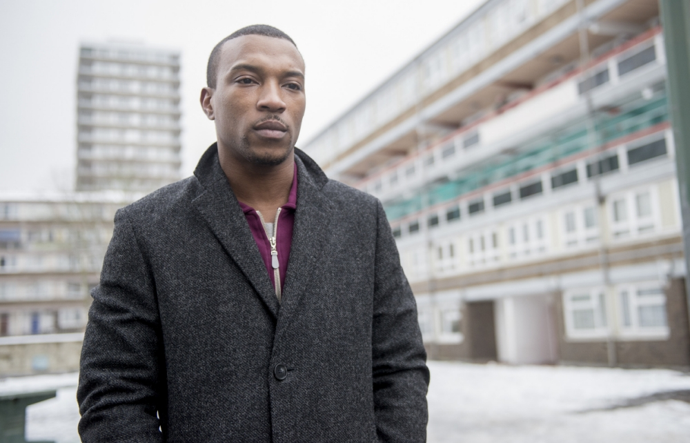 The excellent Ashley Walters is the big man on the estate in Top Dog (Picture:  Channel 4)