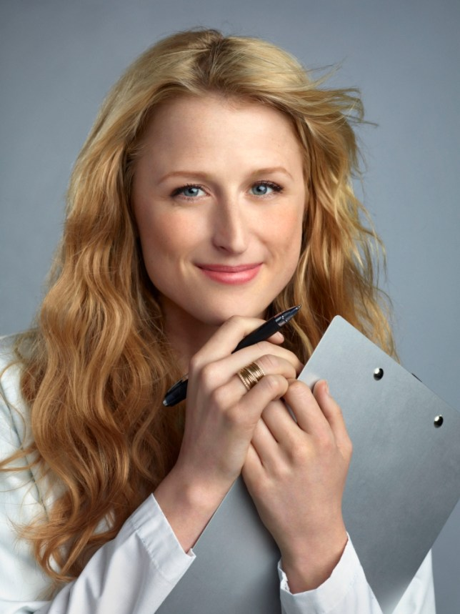 Mamie Gummer as Emily Owens in Emily Owens, MD - she's Meryl Streep's daughter, you know (Picture: Nino Munoz/The CW Network)