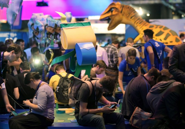 Fans from around the world gather at Gamescom in Cologne, Germany (Picture: DPA)