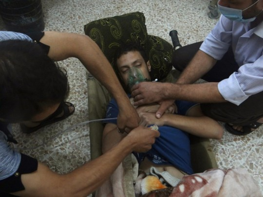 Syria: Reported chemical weapons attack 'deadliest seen since days of Saddam Hussein'