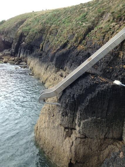 Man Vs council: Bear Grylls grilled over metal slide