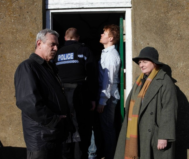 Brenda Blethyn gets to the bottom of things in Vera (Picture: ITV)