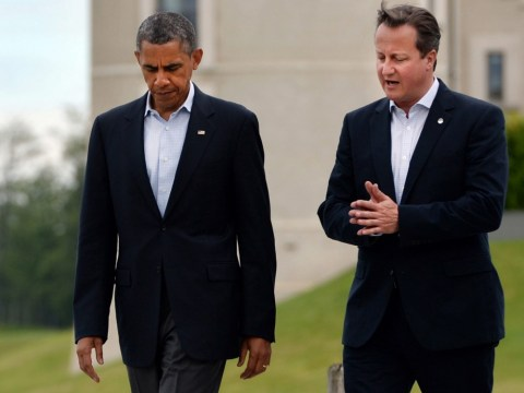 David Cameron offers support to Barack Obama after he announces decision to seek Congress approval on Syria
