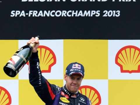 Gallery: Sebastian Vettel wins Belgian F1 Grand Prix
