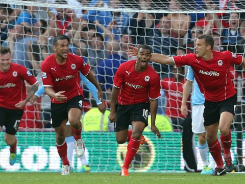Gallery: Cardiff City beat Manchester City at the Cardiff City Stadium on 25th August 2013