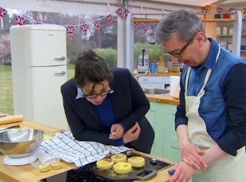 The Great British Bake Off 2013, episode 2 – Squashed muffins and matchstick breadsticks