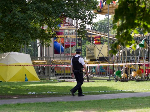 'Large fight' at Southall Park funfair in west London leaves man stabbed to death