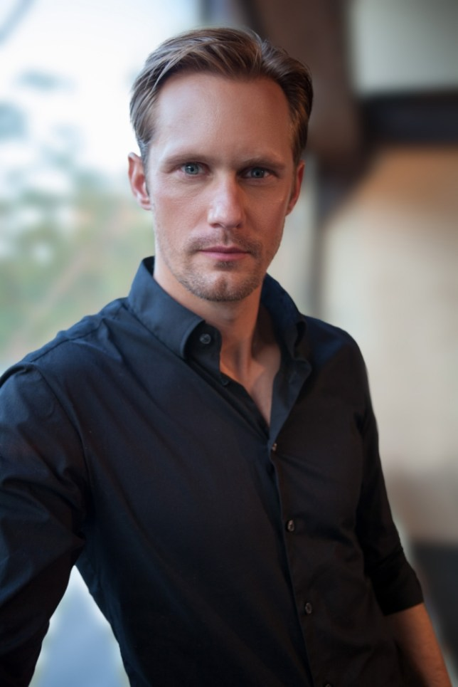 Alexander Skarsgard plays a stepfather to Onata Aprile in What Maisie Knew (Picture: Jennifer Cooper/Corbis Outline)