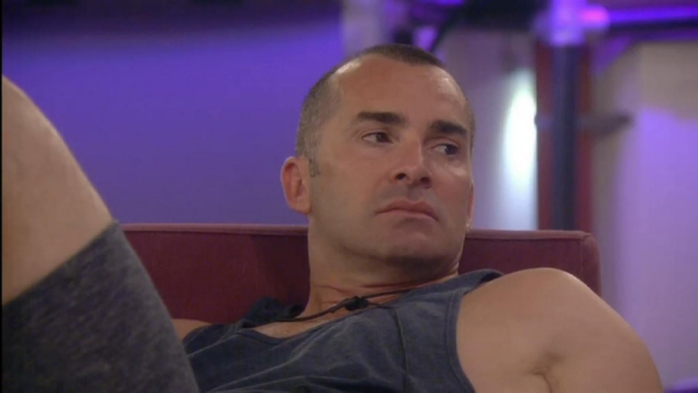 Louie Spence dances across 'glass' in latest Celebrity Big Brother task