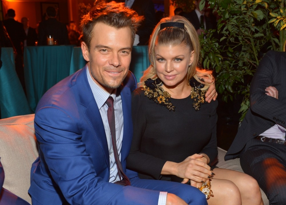 Josh Duhamel has denied claims he 'urged' wife Fergie to quit the Black Eyed Peas