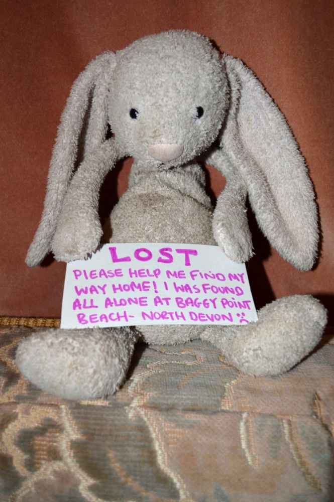 Facebook campaign backed by 30,000 reunites toddler with her cuddly toy