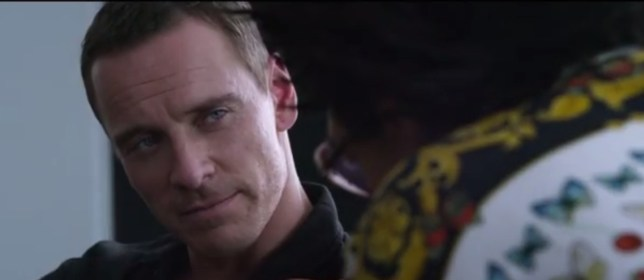 Michael Fassbender gets in over his head in The Counsellor (Picture: YouTube)