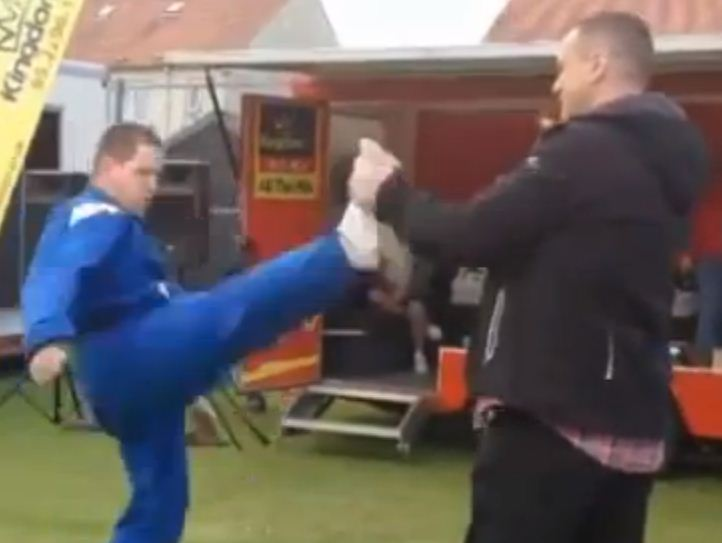 Taekwond-no: Is this the worst martial arts demonstration you've ever seen?