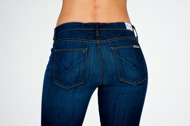 Woman's bottom in jeans
