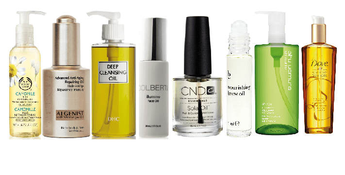 Treat your skin with these oil-based beauty products (Picture: supplied)
