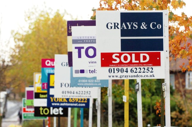 Mortgage lending soared to a five-year high last month (Picture: PA)