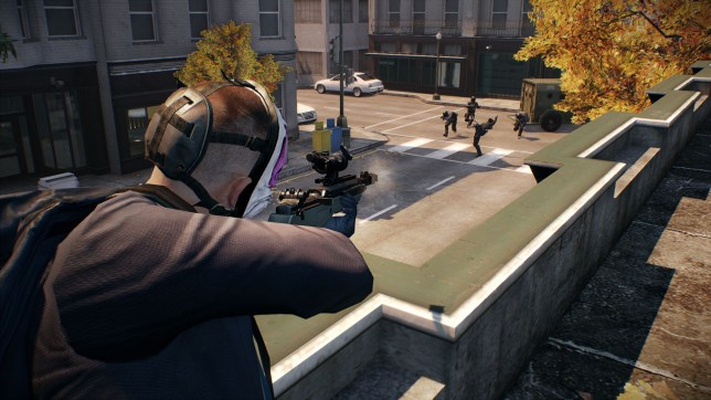 Payday 2 (PS3) - heists are so in right now