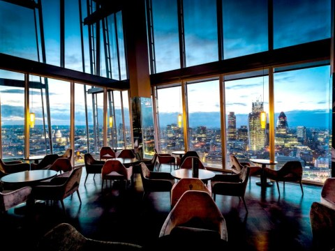Guys' guide to date ideas in London: Drinks at Aqua Shard