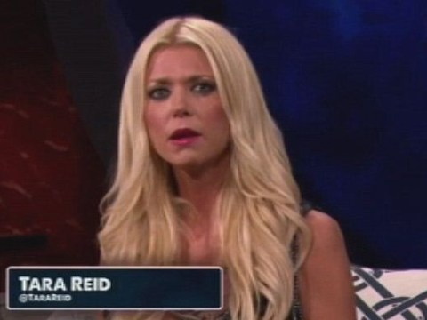 Sharknado star Tara Reid confuses everyone with her explanation of whale sharks on Discovery Channel