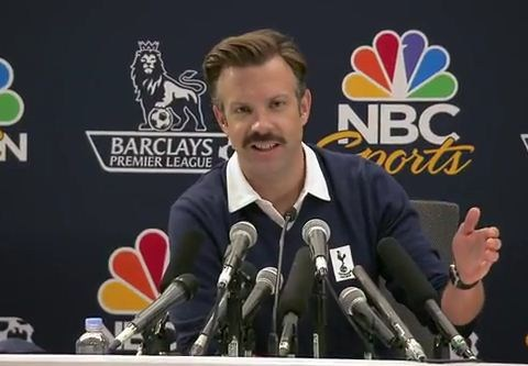 Spurs appoint new American football coach Jason Sudeikis – sort of