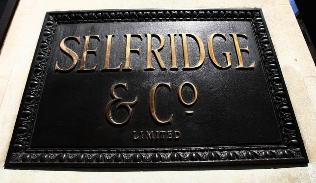"""File photo dated 22/07/11 of Selfridges in London's Oxford Street as Selfridges and a Sussex farmer are to be prosecuted for selling """"raw"""" milk in the department store's food hall, the Food Standards Agency (FSA) said. PA Wire/Press Association Images"""