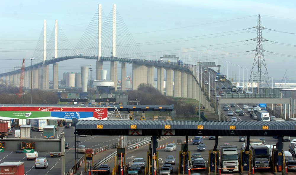 Hoax bomb caused Dartford Crossing mayhem as police question 'foreign national'