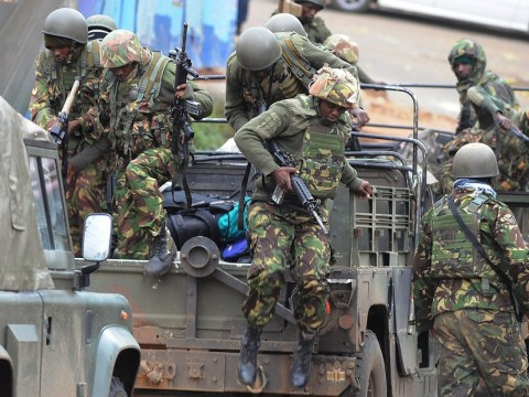 Gunfire at Nairobi siege mall as Kenyan leader promises to hunt down terrorists