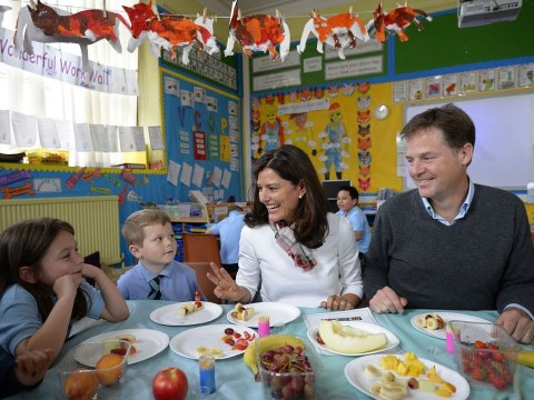 Every child at infant school to be given free lunches
