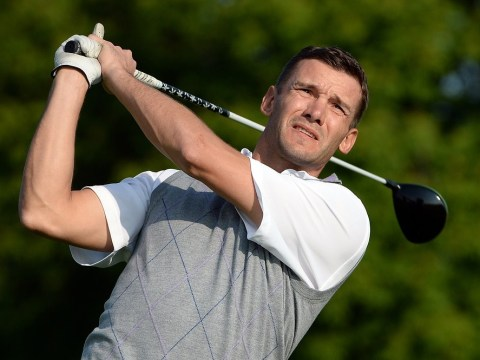 Former Chelsea star Andriy Shevchenko set for pro golf debut