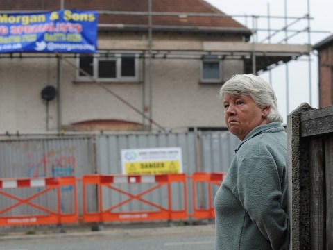Demolition begins at house where six children were killed in blaze started by parents Mick and Mairead Philpott