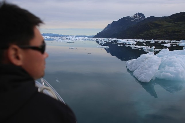 Sea ice cover is said to be shrinking in the Arctic (Picture: Getty Images)