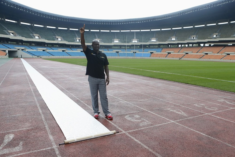 Disgraced Ben Johnson back in Seoul 25 years after 'winning' 'dirtiest race in history'
